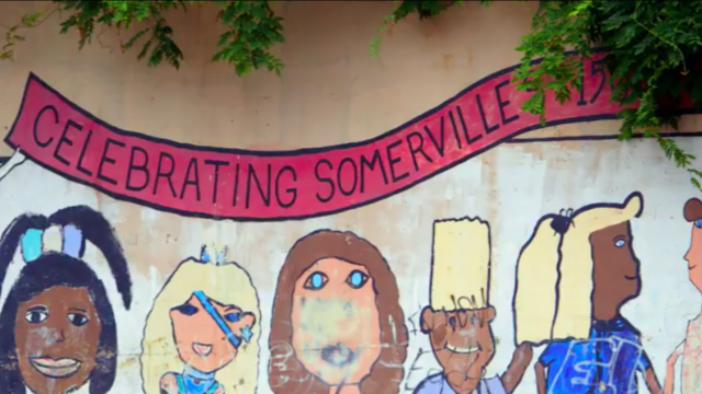 Wall painting of Sommerville