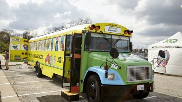 The XQ Super School Bus rolls into Pittsburgh to re-think and re-invent high schools
